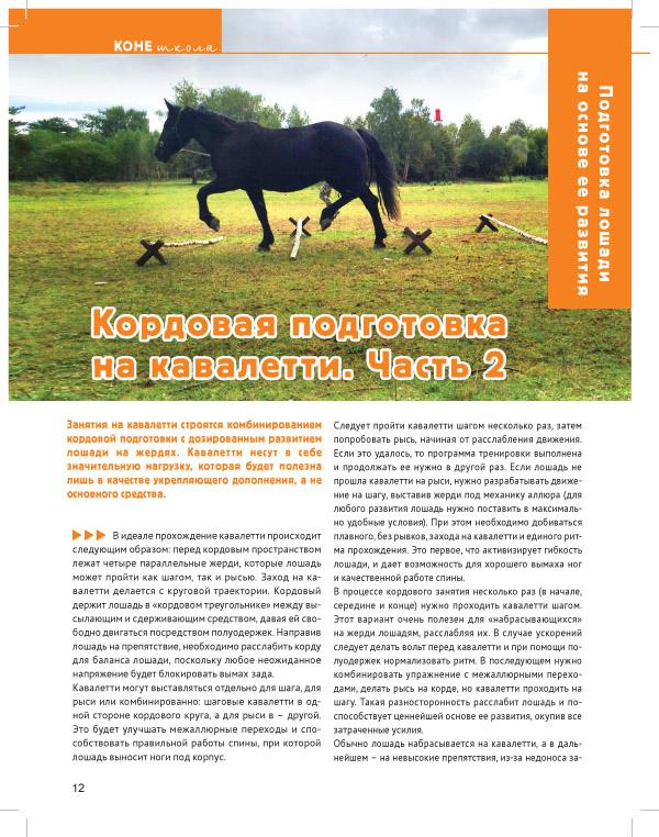Кордовая подготовка, стр. 12